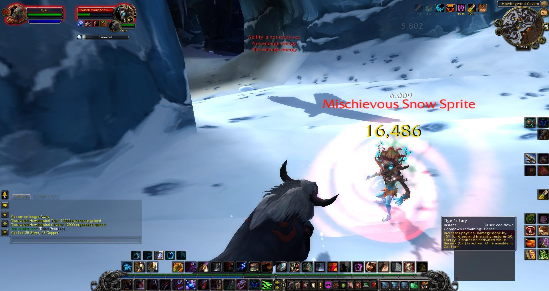 Snow Sprite Wow Mischievous Snow Sprite Wow