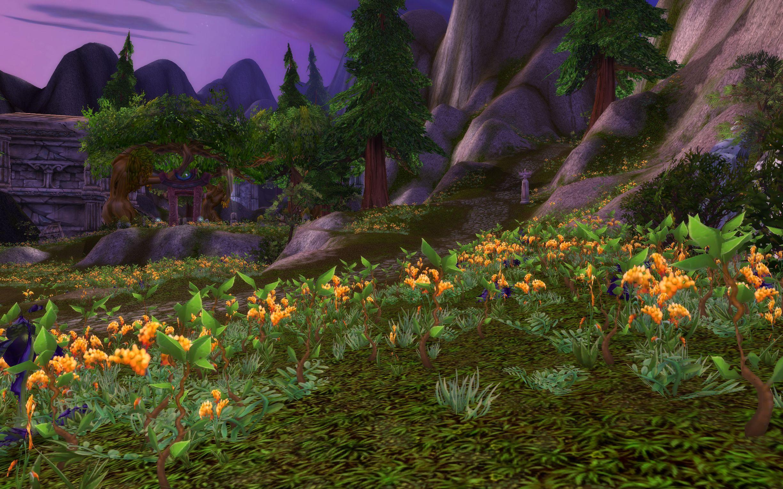Mount Hyjal Cataclysm Wow Screenshot Gamingcfgcom