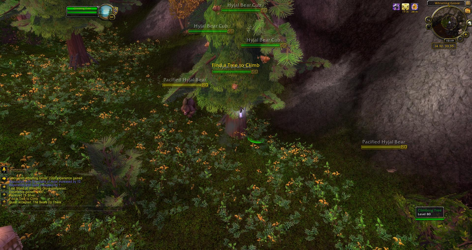 Mount Hyjal Whistling Grove Wow Screenshot Gamingcfgcom