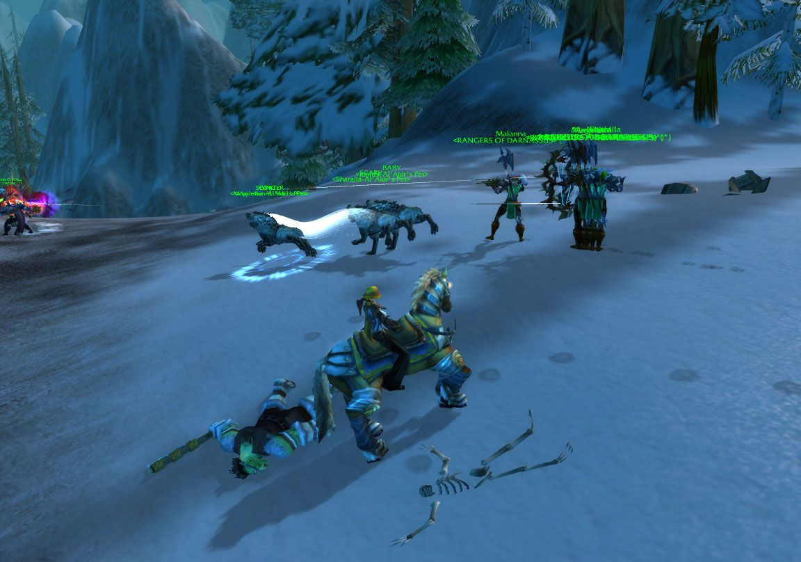 Multiboxing Hunter wow screenshot - Gamingcfg com