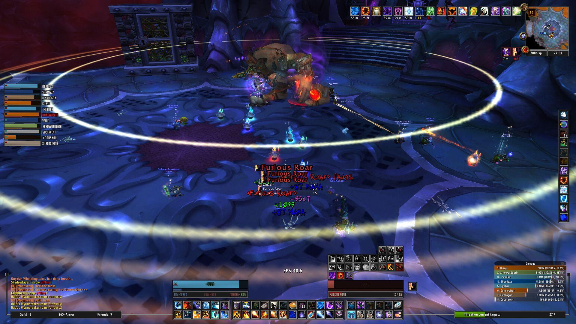 My mage UI wow screenshot - Gamingcfg com