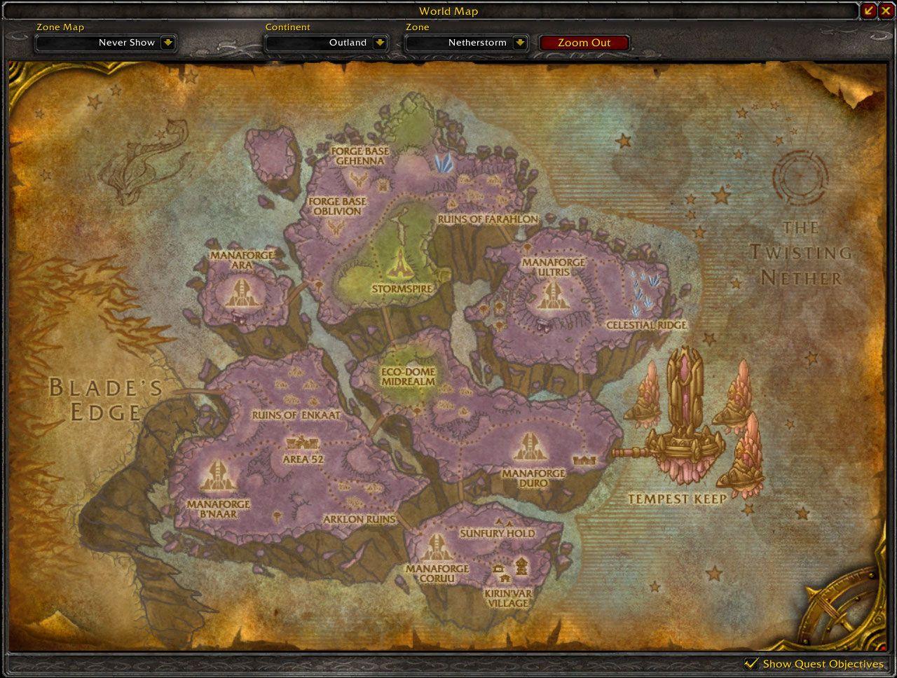 Карта 3.3 Warcraft