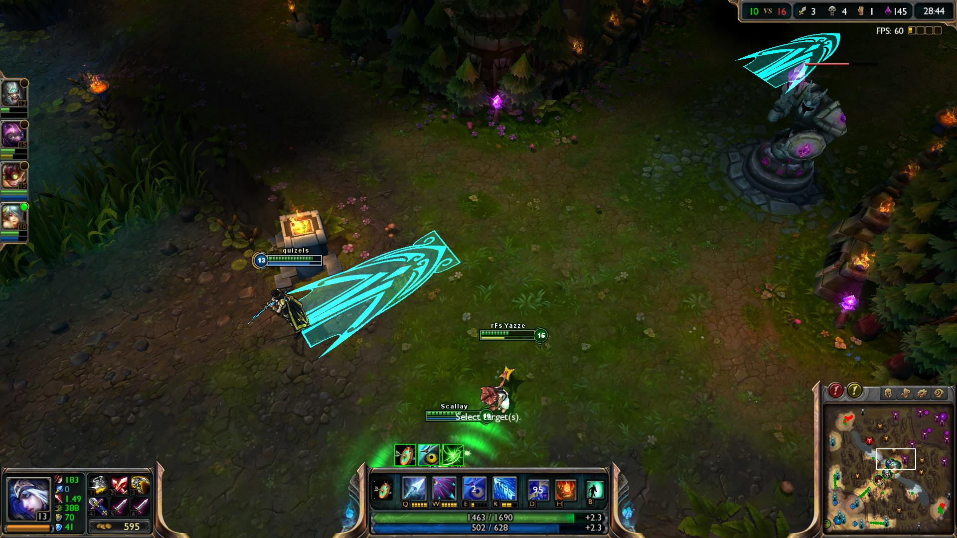 Enchanted Crystal Arrow Ashe lol lol screenshot
