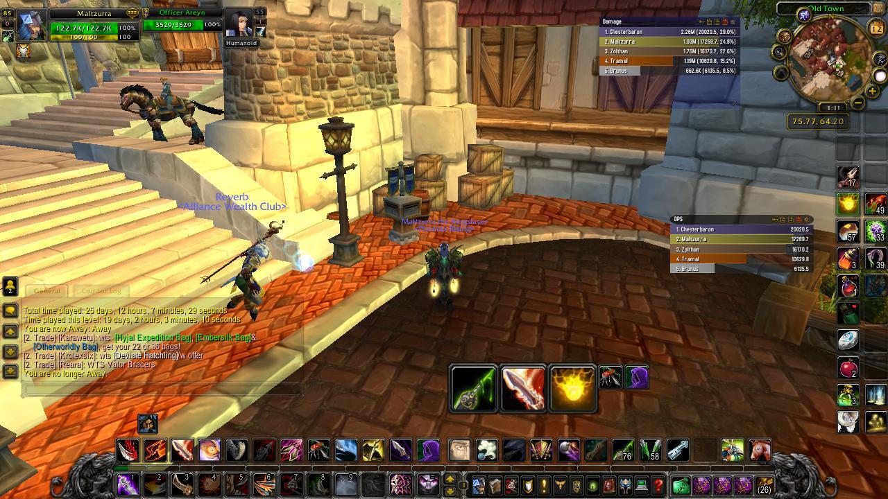 Rogue UI wow screenshot - Gamingcfg com