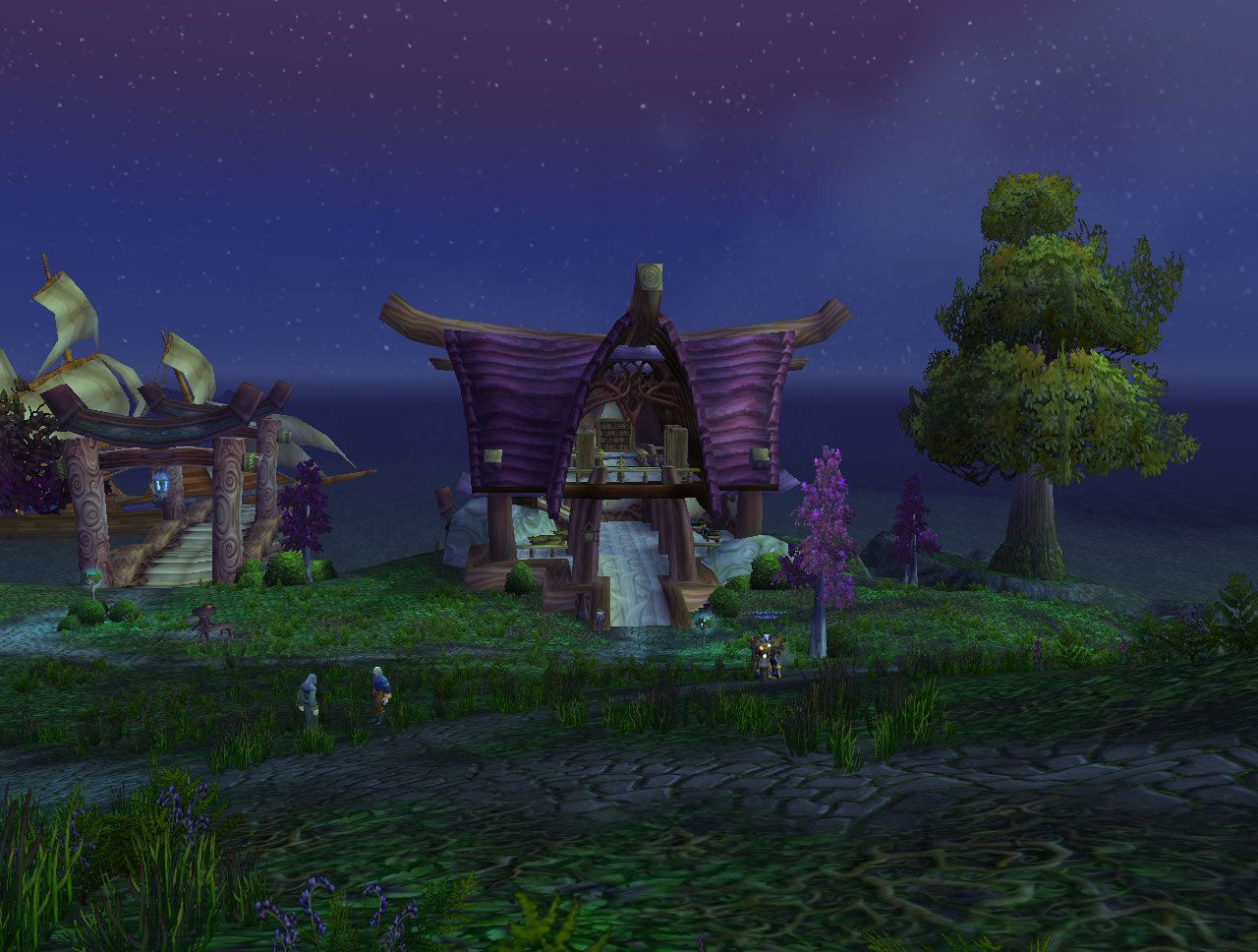 Rut'theran Village Cataclysm wow screenshot