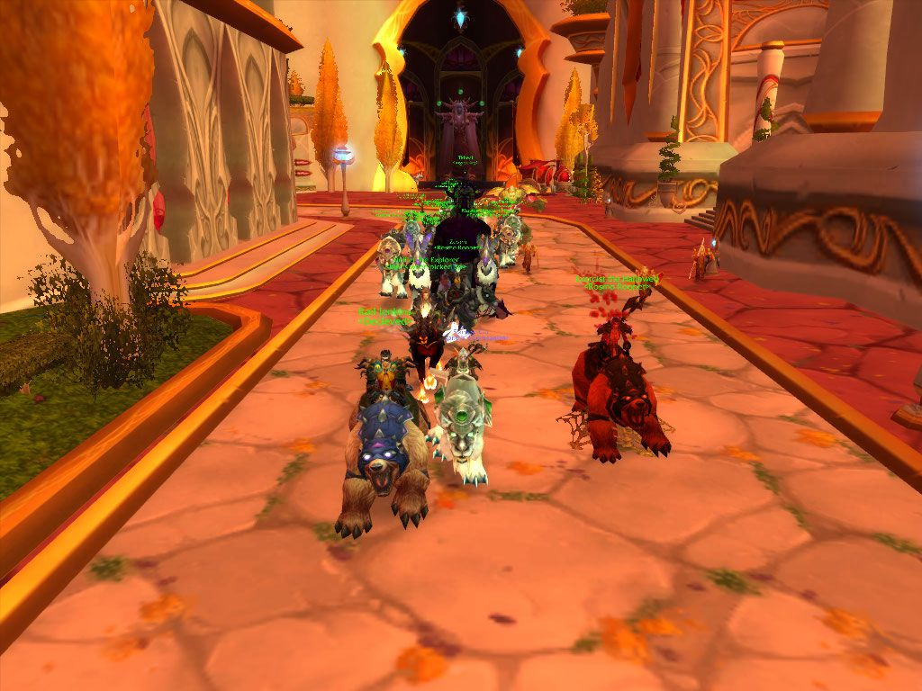 Silvermoon City Attack wow screenshot