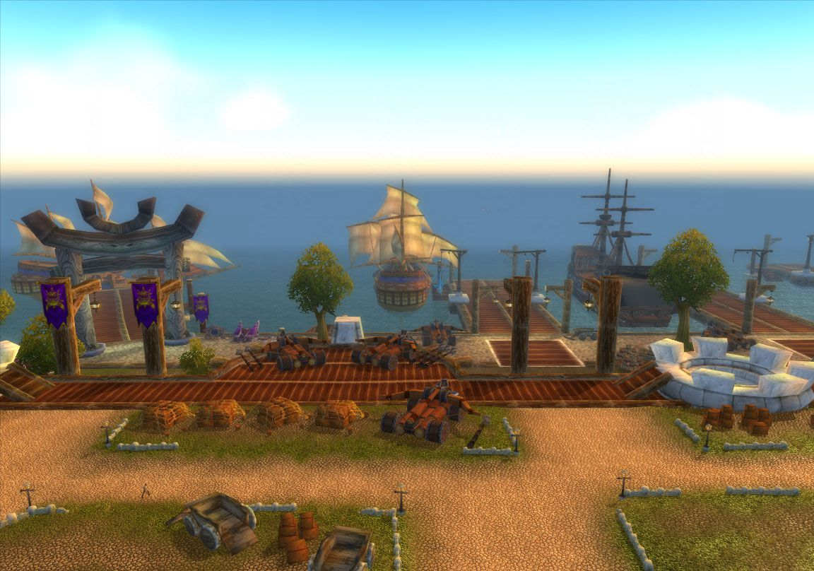 stormwind harbor wow screenshot