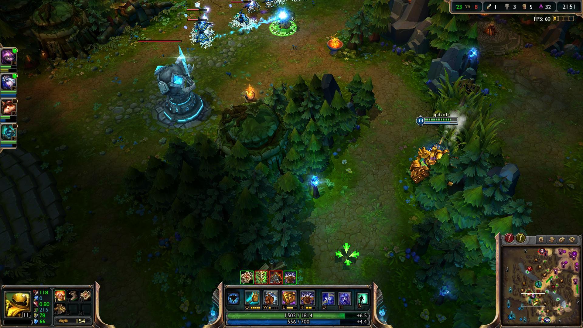 League of Legends Blitzcrank lol screenshot - Gamingcfg com