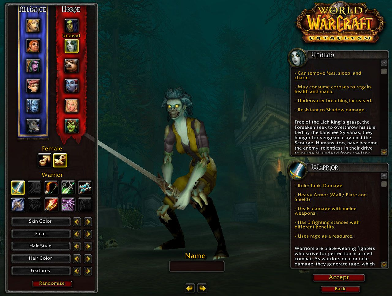 World of warcraft undead warrior hentia pics