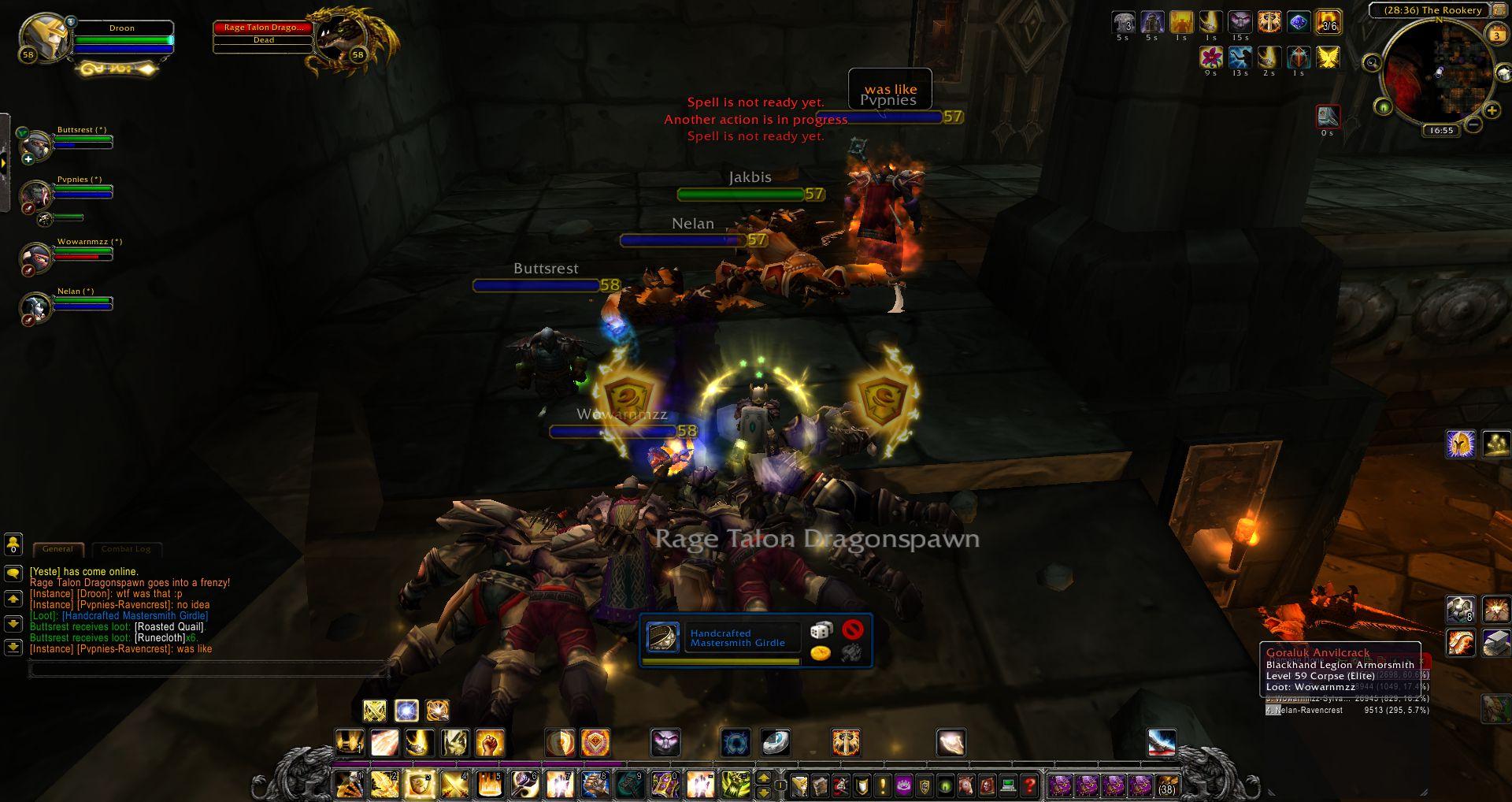 Upper Blackrock Spire wow screenshot - Gamingcfg com