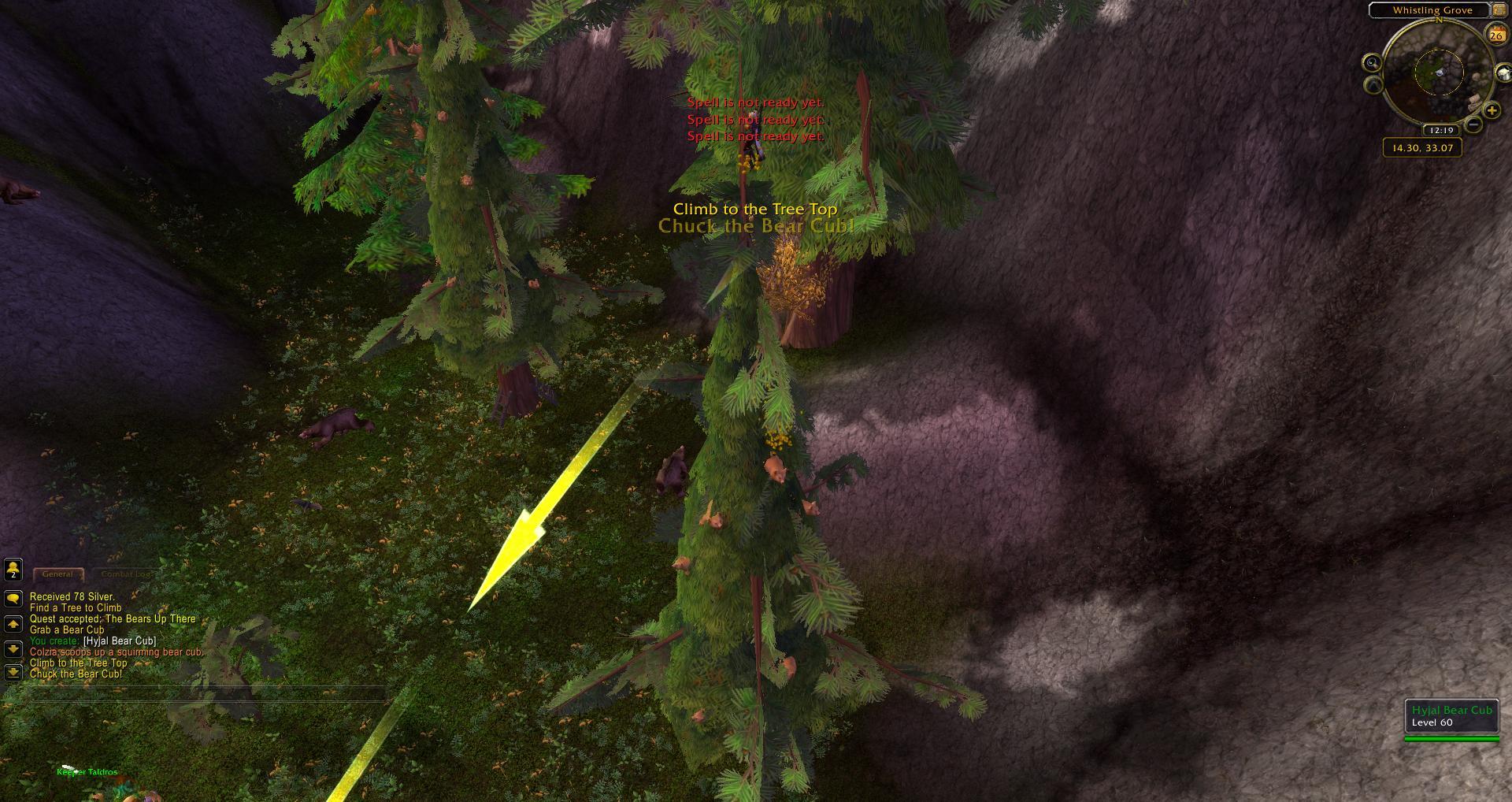 Whistling Grove Mount Hyjal Wow Screenshot Gamingcfgcom