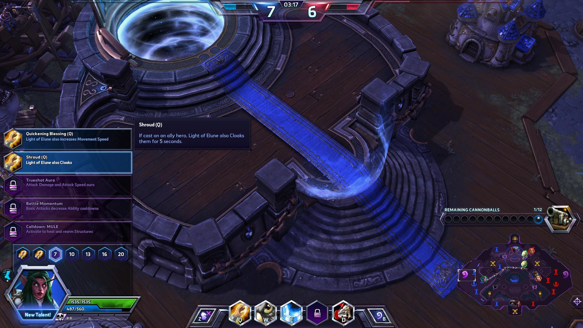 Shroud Tyrande hots screenshot - Gamingcfg com