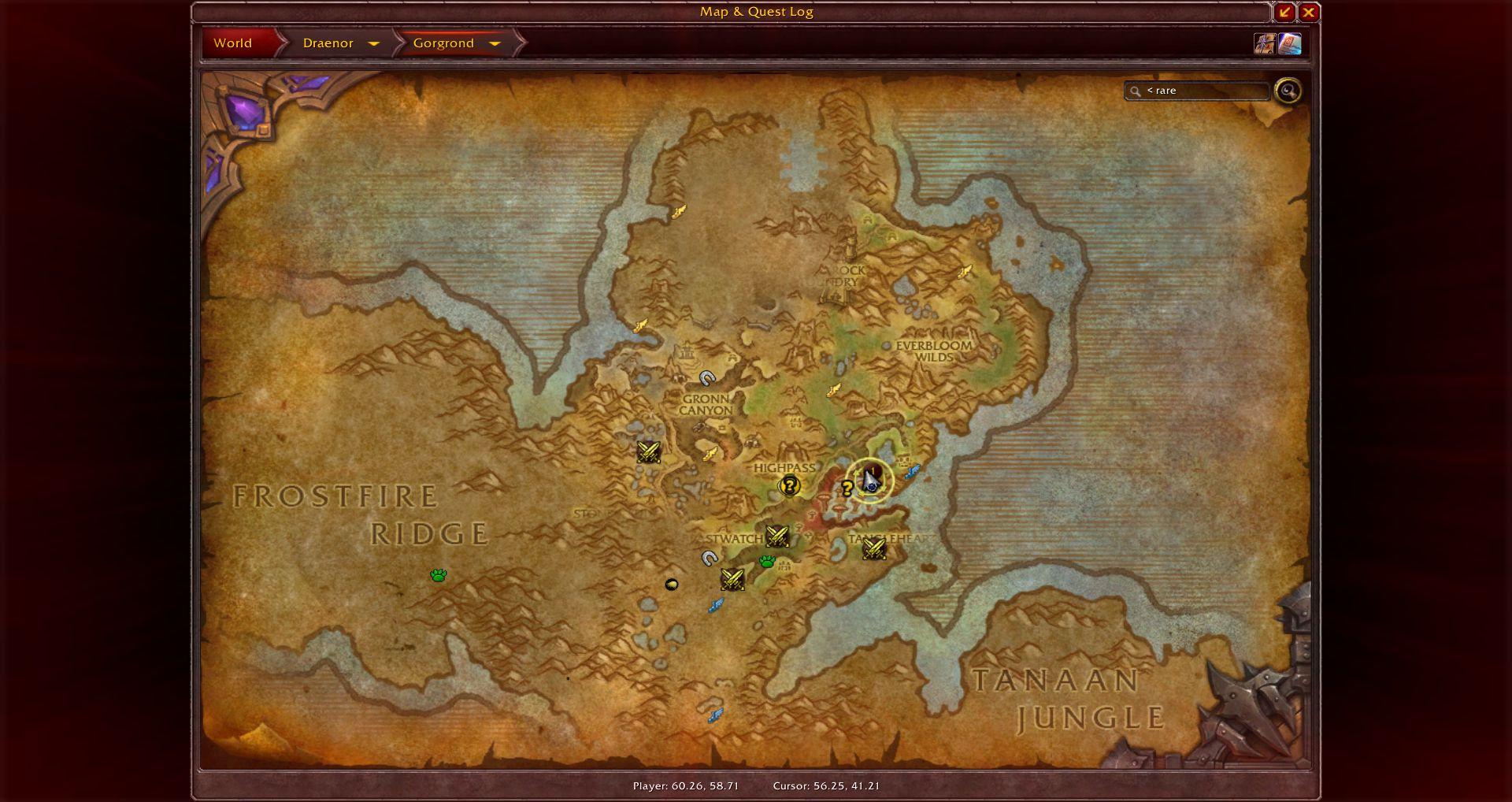 Gorgrond map wow screenshot gamingcfg gorgrond map wow screenshot gumiabroncs Images