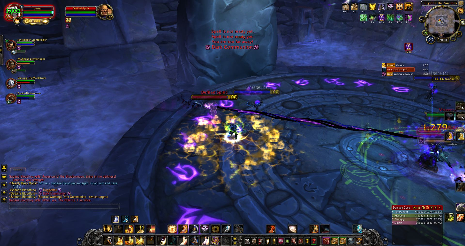 Sadana Bloodfury WoD wow screenshot