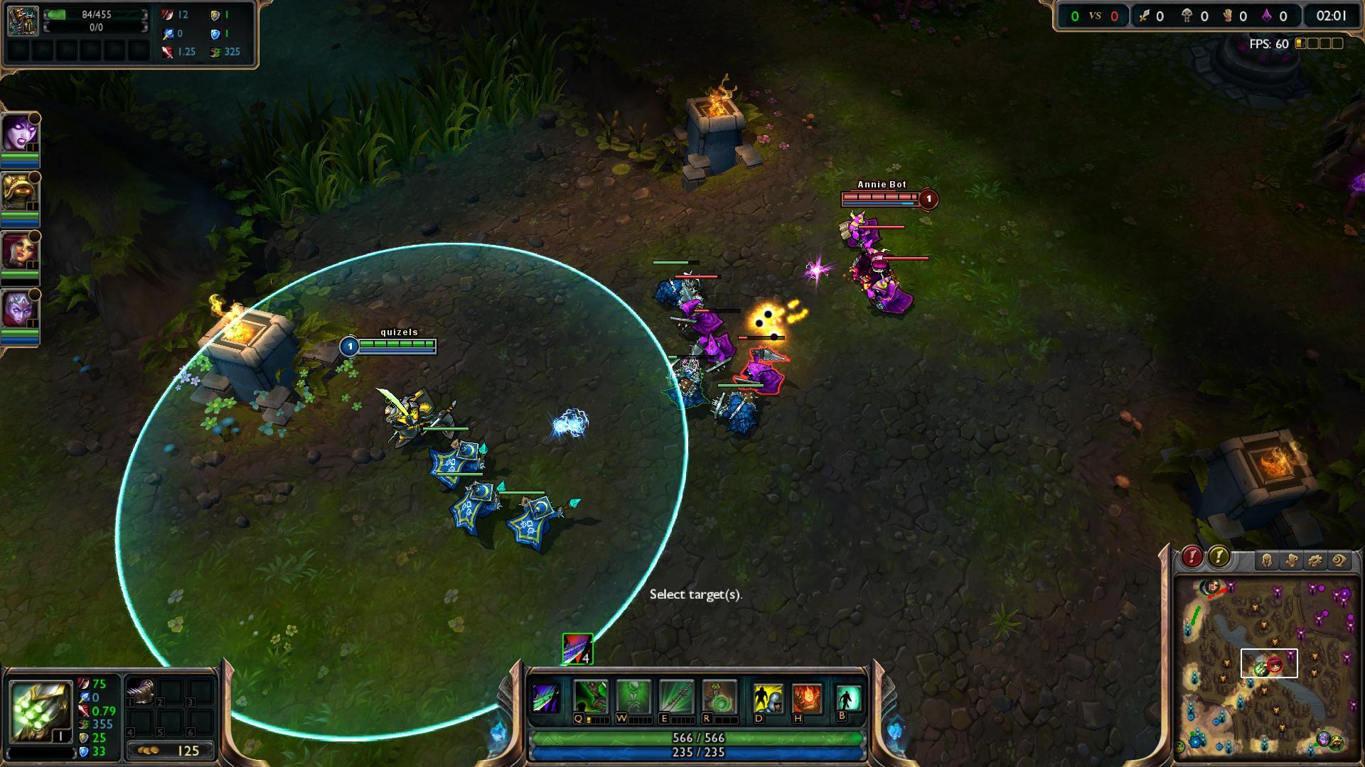 Master Yi Alpha Strike lol screenshot