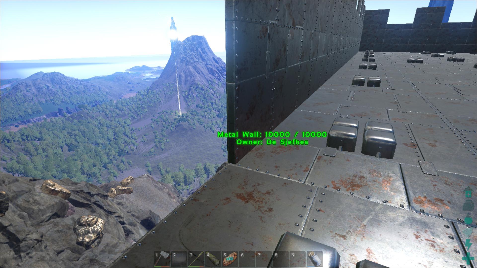 Metal Wall ark screenshot - Gamingcfg com